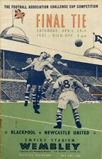 More details for 1951 f a cup final - blackpool v newcastle united