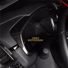 Carbon fiber look interior meter dashboard cover trim for 2017-18 Honda CRV