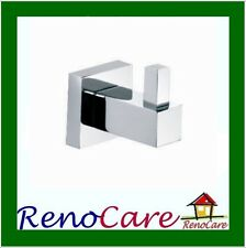 ICE3 Square Brass Single Robe Hook RC-7144