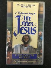 Life After Jesus - In The Footsteps Of Christ VHS VIDEO TAPE (rare)