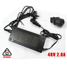 48V 2A Power Supply Charger for E-bike electric bicycle Lithium 3 Port House