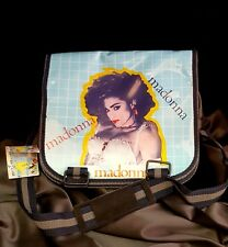 MADONNA VINTAGE LIKE A VIRGIN SCHOOL MESSENGER BAG MID-80s NEW RARE