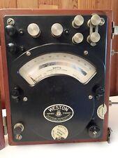 Weston A-C & D-C Wattmeter Model 310 untested