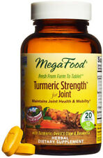 Turmeric Strength for Joint, MegaFood, 20 tablet