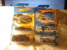 "KNIGHT RIDER ""A-TEAM VAN"" GHOSTBUSTERS ECTO-1 ""DELOREAN~BACK to the FUTURE""! F3"
