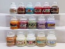 Yankee Candle Small Jar Candle 3.7 Oz ~ U Choose Select Your Scent