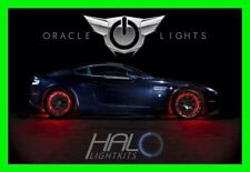 RED LED Wheel Lights Rim Lights Rings by ORACLE (Set of 4) for FORD MODELS 4