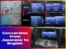 Conversion Japanese to English for Nissan Skyline V36 2nd series
