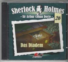 Sherlock Holmes 26 - Das Diadem CD Maritim Verlag Neuware in Folie