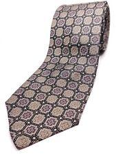 POLO RALPH LAUREN Handmade in USA Silk Tie Men's NWOT Black Purple Necktie