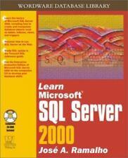 Learn Microsoft SQL Server 2000 (Wordware Database Library)