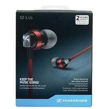 SENNHEISER CX 3.00 IN-EAR CANAL HEADPHONE (BLACK/RED)