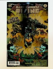 Dark Knights Rising The Wild Hunt #1 Foil Cover Metal Tie-In 1st Print DC Comics