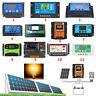 Digital LCD Solar Regler USB Laderegler Panel Charge Controller Regulator 12/24V