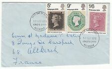 LETTRE FDC ROYAUME UNI SERIE TIMBRE 599 A 601 PHILYMPIA   1970