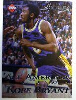 1998 Collector's Edge Impulse All American Kobe Bryant #41, Checklist, #'d/5000