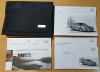 GENUINE AUDI A5 HANDBOOK MANUAL WALLET 2007–2011 AUDIO REF L-1003