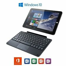 Linx 1010B Intel Quad Core 2gb RAM 32gb eMMC 64gb MicroSD Tablet Keyboard Dock