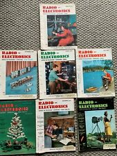 7 Vintage Radio Electronics Magazine 1953 Issues, Build A Theremin