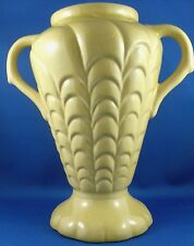 RARE Antique/Vintage MCP SYDNEY No 87 ART DECO Mustard Vase VG - In Australia