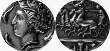 Persephone & Chariot Goddess of The Underworld Greek Mythology Greek Coin (17-S)