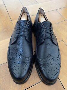 Original Handmacher Modell Budapester Derby, Business & Mode Schuhe Gr. 43 (9) F