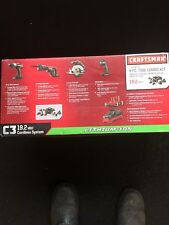 CRAFTSMAN 19.2V Li CORDLESS Drill, Reciprocating Saw, Trim Saw, Work Light SET