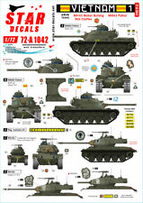 Star Decals 72-A1042, Vietnam 1.M24 Chaffee, M41 Walker Bulldog and M48A3 , 1/72