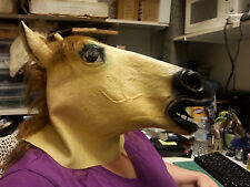 New Lady Horse Mask - In package Never worn  Horse Head Dress up Adult size Mask