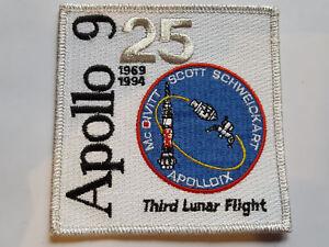 U.S. RAUMFAHRT NASA SPACE AUFNÄHER PATCH APOLLO 9 25TH ANNIVERSARY FASCHING