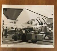 F-4 Phantom II Aircraft Of Fighter Squadron VF-11 USS Forrestal Photo 6-26-1976