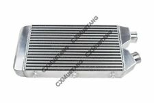 Universal Aluminum 25x11x3 One Sided Turbo Intercooler For Mustang RX7 Eclipse