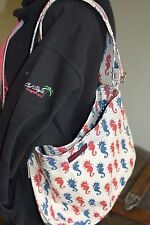 Bungalow 360 Übër Cute Sea Horse Messenger Bag! Washable, Quality, & <3