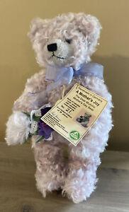 HERMANN TEDDY BEAR  A MOTHER'S JOY LIMITED EDITION 21/50 WITH TAGS