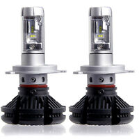 2X H7 100W 12000LM LED Car Headlights Kits Beam Bulbs Turbo Super White 6500K
