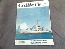 Collier's Magazine March 25, 1950 Basketball All-America Case Of Smuggler's Bell