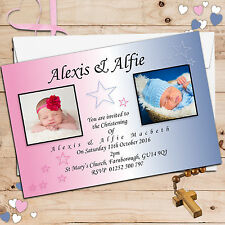 buy joint christening invitations ebay
