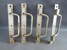 Lot de 4 poignées en fer pour malle ou caisse casier rangement bois old handles