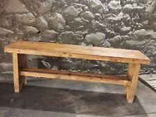 handmade Rustic Wooden kitchen Bench