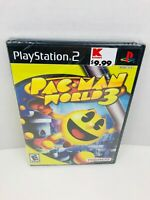 Pac-Man World 3 Sony PlayStation 2 PS2 Video Game New Sealed