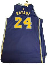 NEW KOBE BRYANT ADIDAS VARIANT LAKER BLUE & YELLOW JERSEY SIZE XL VINTAGE