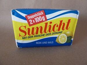 Sunlicht Rein und Mild 2x100 g Neu unbenutzt Vintage
