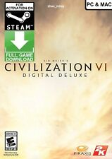 Sid Meier's Civilization VI Digital Deluxe (PC & MAC) Steam Key GLOBAL FAST SENT