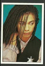 Terence Trent DARBY #157 1988 Panini Pop Rock Sticker Sananda Francesco Maitreya