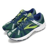 Brooks Launch 6 Happy Run Special Blue Green White Men Running Shoes 110297 1D