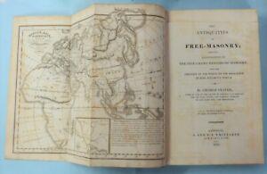 Rare to find Masonic Book The Antiquities of Free Masonry 1823