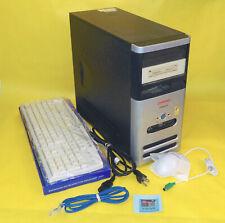 Upgraded Compaq Presario S3500Cl Intel P4 2.66Ghz 200Gb Hd Com/Lpt port Linux Pc