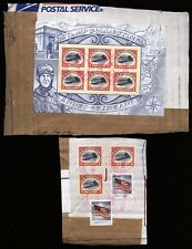 US Scott 4806  USED Inverted Jenny Sheet of 6  & 3 4806a on pc. cardboard