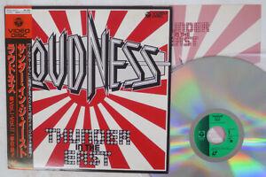 THUNDER IN THE EAST LOUDNESS COLUMBIA VIDEO DISC 68C51 6073 Japan OBI VINYL LD