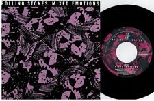 THE ROLLING STONES Mixed emotions 45rpm 7' + PS 1989 HOLLAND MINT-